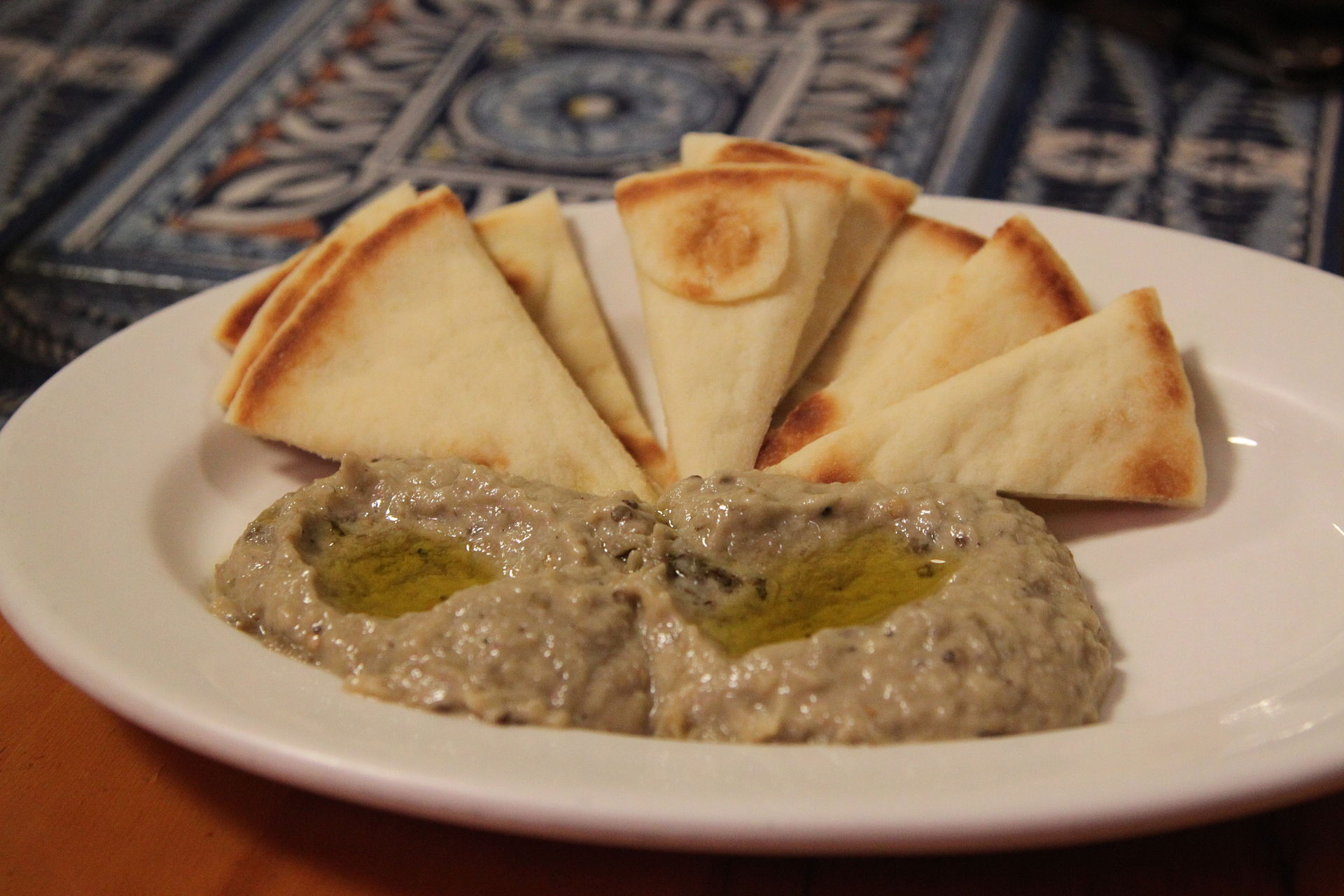 Baba Ganoosh and Pita